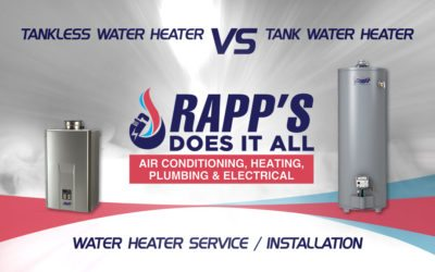 Tankless vs Tank Water Heater