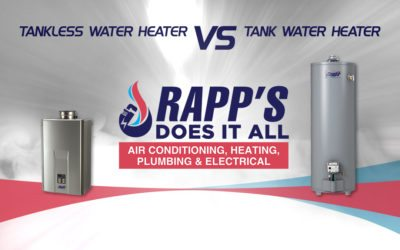 Tankless vs Tank Water Heater