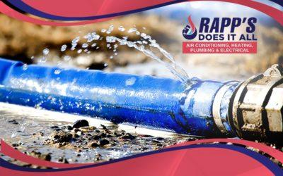 Water Pipe Leaks – South Carolina Area